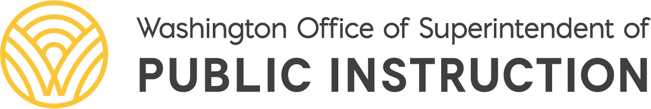 OSPI logo Office of the Superintendent of Public Instruction, Chris Reykdal